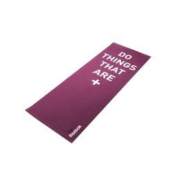 Тренировочный коврик (мат) для йоги двухсторонний 4мм POSITIVE