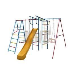 """Детский спортивный комплекc """"Вертикаль-А+П"""" дачный МАКСИ с горкой 3,0 м"""