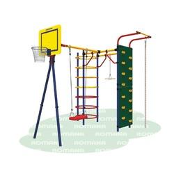 Детский спортивный комплекс «Карусель 3.3.15.24» Джунгли дачный