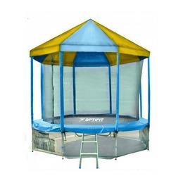 LIKE BLUE 14FT Батут с сине-желтой крышей