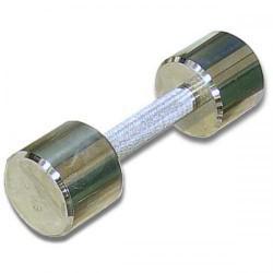 Гантель хромированная для фитнеса 7 кг MB-FitM-7