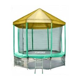 LIKE GREEN 10FT Батут с желтой крышей
