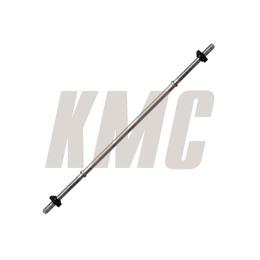 Гриф для штанги d 31 мм хромированный 1500 мм, замок-гайка