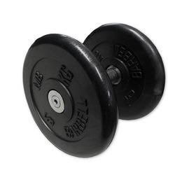 Гантель неразборная черная 13,5 кг