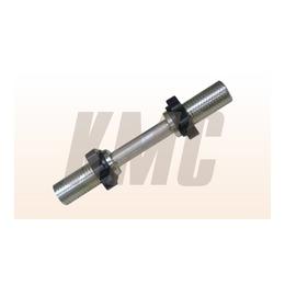 Гриф/гантели d 51 мм металл/ручка плавающая з/гайка L390 мм