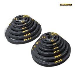 LBS (115,68 кг) Набор олимпийских дисков 51 мм для тренажеров 255