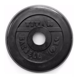 Диск обрезиненный черный 10 кг (51 мм)