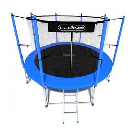 Батут i-JUMP Classic 6ft (1,83 м.) с лестницей (blue)