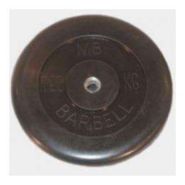 Диск обрезиненный черный 10 кг