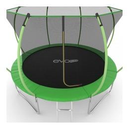 JUMP Internal 12ft (Green) Батут с внутренней сеткой и лестницей, диаметр 12ft (зеленый)