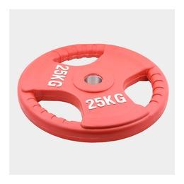 Олимпийский диск, евро-классик с тройным хватом 25 кг.