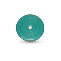 Диск обрезиненный цветной 10кг(31мм)