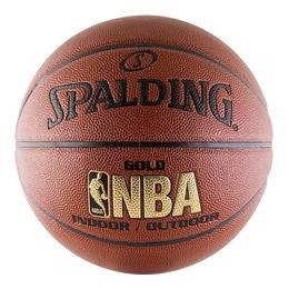 Баскетбольный мяч NBA Gold, с логотипом NBA р-р 7