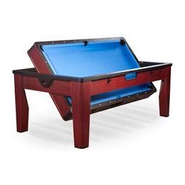 «Tornado» Многофункциональный игровой стол 6 в 1 (коричневый)
