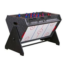 «Vortex 3-in-1» Стол-трансформер (3 игры: аэрохоккей, футбол, бильярд, 127 х 78.7 х 86.4 см, серый)