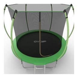 EVO JUMP Internal 10ft (Green) + Lower net. Батут с внутренней сеткой и лестницей