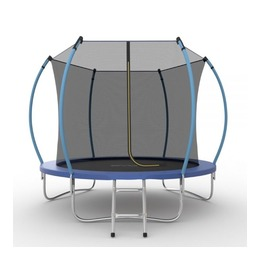 JUMP Internal 10ft (Blue) Батут с внутренней сеткой и лестницей, диаметр 10ft (синий)