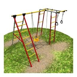 Детский спортивный комплекс «Карусель 3.3.21.01» Букварь-2 дачный