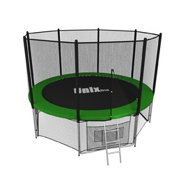 Батут Unix line 14 ft outside (Green)