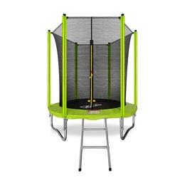 ARLAND Батут 6FT с внутренней сеткой и лестницей (Light green)