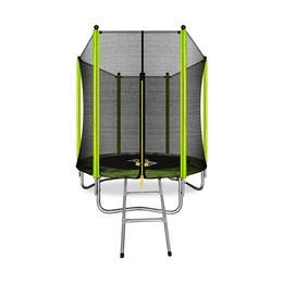 ARLAND Батут 6FT с внешней сеткой и лестницей (Light green)