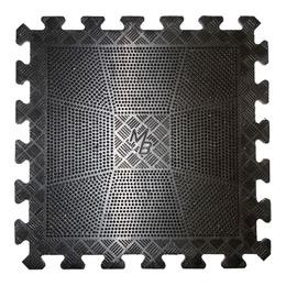 Коврик резиновый 400х400х12 черный
