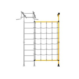 Комплект стойка распорная с канатным лазом ДСКМ-1-8.02-45
