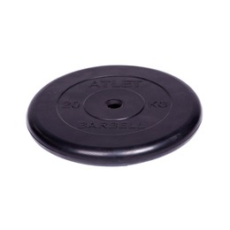 Диск обрезиненный черный (d26мм 20 кг)