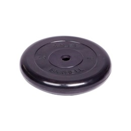 Диск обрезиненный черный (d26мм 2,5 кг)