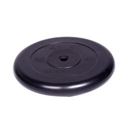 Диск обрезиненный черный (d26мм 25 кг)