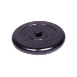 Диск обрезиненный черный (d31мм 10 кг)