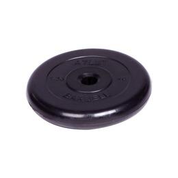 Диск обрезиненный черный (d31мм 1,25 кг)