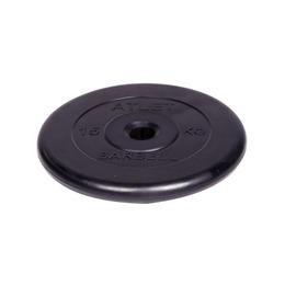Диск обрезиненный черный (d31мм 15 кг)