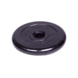 Диск обрезиненный черный (d51мм 10 кг)