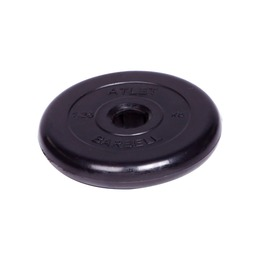 Диск обрезиненный черный (d51мм 1,25 кг)