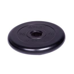 Диск обрезиненный черный (d51мм 25 кг)