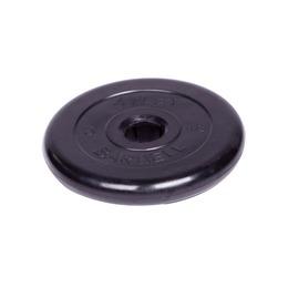 Диск обрезиненный черный (d51мм 5 кг)