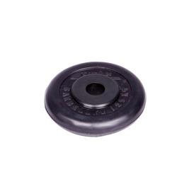 Диск обрезиненный черный 1,25кг(26мм)