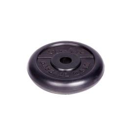 Диск обрезиненный черный 2,5кг(26мм)