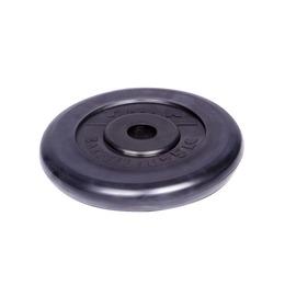 Диск обрезиненный черный 25кг(26мм)