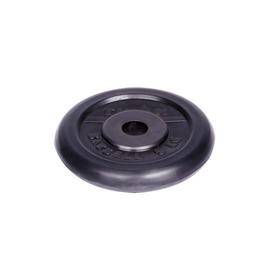 Диск обрезиненный черный 5кг(26мм)