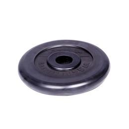 Диск обрезиненный черный 25кг(31мм)
