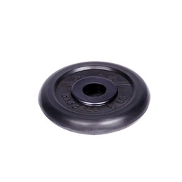 Диск обрезиненный черный 5кг(31мм)
