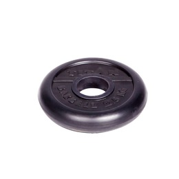 Диск обрезиненный черный 2.5кг(51мм)