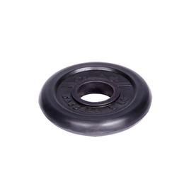 Диск обрезиненный черный 5кг(51мм)