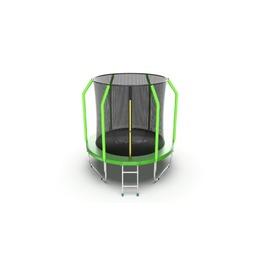Jump Cosmo 6ft (Green) Батут с внутренней сеткой и лестницей, диаметр 6ft (зеленый)