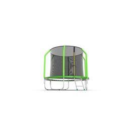 JUMP Cosmo 8ft (Green) Батут с внутренней сеткой и лестницей, диаметр 8ft (зеленый)