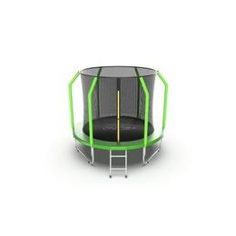 EVO JUMP Cosmo 8ft (Green) Батут с внутренней сеткой и лестницей