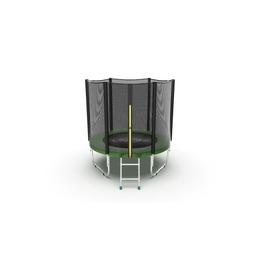 EVO Jump External 6ft (Green) Батут с внешней сеткой и лестницей