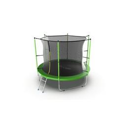 JUMP Internal 10ft (Green) Батут с внутренней сеткой и лестницей, диаметр 10ft (зеленый)